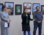 Открытие фотовыставки Юрия Бирюкова и Алины Кузьменко 15