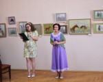 Выставка художественной вышивки и акварели Анны Пугачевой «Под шелест трав…» 3