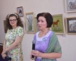 Выставка художественной вышивки и акварели Анны Пугачевой «Под шелест трав…» 7