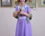 Выставка художественной вышивки и акварели Анны Пугачевой «Под шелест трав…» 12
