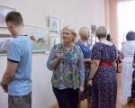 Выставка художественной вышивки и акварели Анны Пугачевой «Под шелест трав…» 14