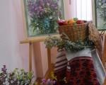 Выставка художественной вышивки и акварели Анны Пугачевой «Под шелест трав…» 17