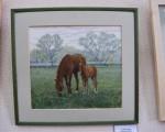 Выставка художественной вышивки и акварели Анны Пугачевой «Под шелест трав…» 19