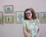 Выставка художественной вышивки и акварели Анны Пугачевой «Под шелест трав…» 22