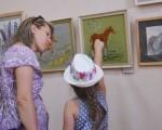 Выставка художественной вышивки и акварели Анны Пугачевой «Под шелест трав…» 24