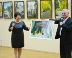 Открытие выставки живописи Геннадия Шуремова «Город над Сожем» 27