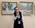 Выставка живописи Геннадия Тарских «Зимы застывшие мгновения» 4