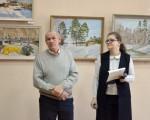 Выставка живописи Геннадия Тарских «Зимы застывшие мгновения» 6