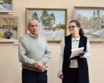 Выставка живописи Геннадия Тарских «Зимы застывшие мгновения» 7