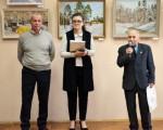 Выставка живописи Геннадия Тарских «Зимы застывшие мгновения» 11