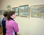Выставка живописи Геннадия Тарских «Зимы застывшие мгновения» 13