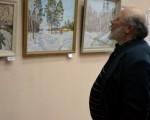 Выставка живописи Геннадия Тарских «Зимы застывшие мгновения» 20