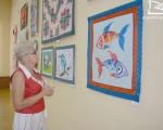 Выставка Галины Голубенко «Лоскут в интерьере» 2