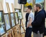 Открытие выставки живописи Геннадия Шуремова «Город над Сожем» 5