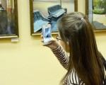 Открытие выставки живописи Геннадия Шуремова «Город над Сожем» 36